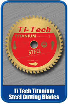 Ti Tech Titanium Saw Blades For Mild Steel